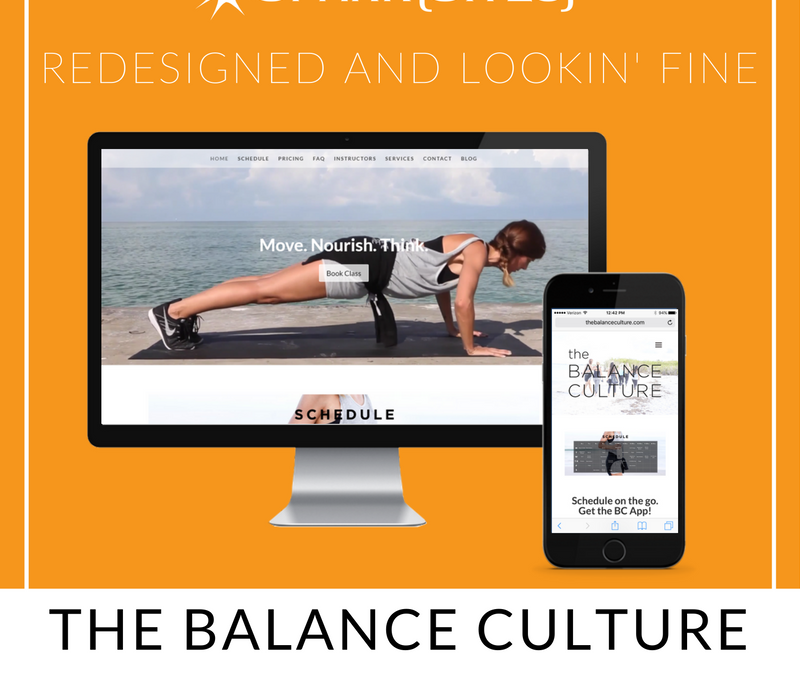 The Balance Culture Redesign