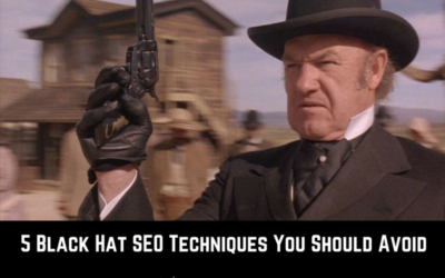 5 Black Hat SEO Techniques to Avoid