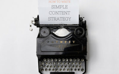 How to Write Simple Content Strategy