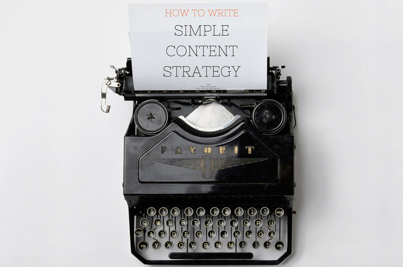 How to Write Simple Content Strategy - Spark My Site