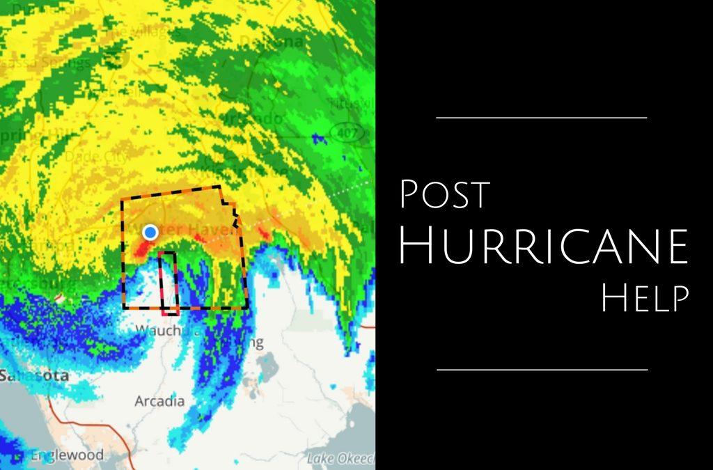 Post Hurricane Irma Help is Here!