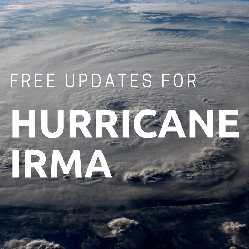 Free Website Updates About Hurricane Irma | Spark Sites, Lakeland, FL | Web Design and WordPress Support