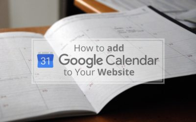 How to Add Google Calendar to Your Website