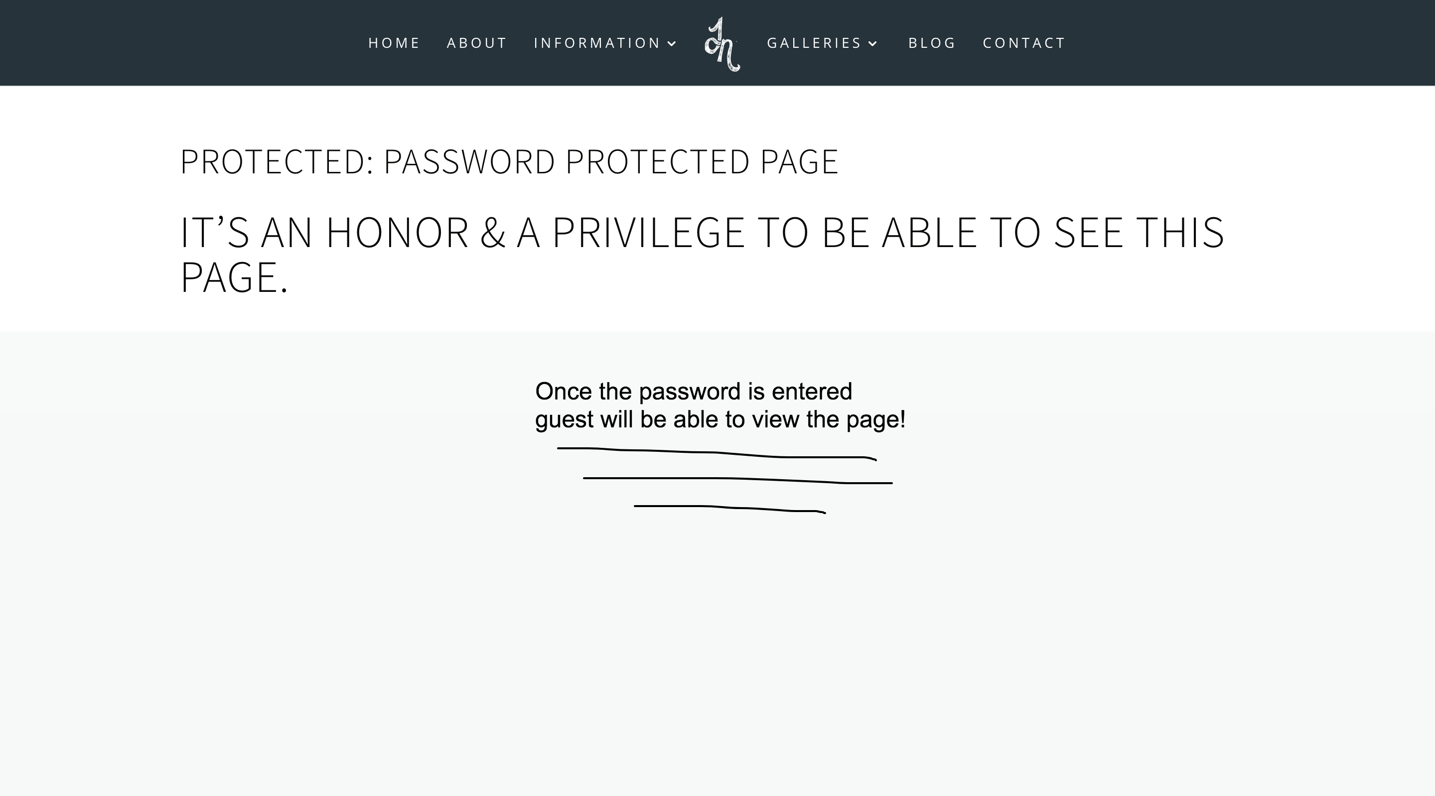 Create a Password Protected Page on Your Website - Spark My Site