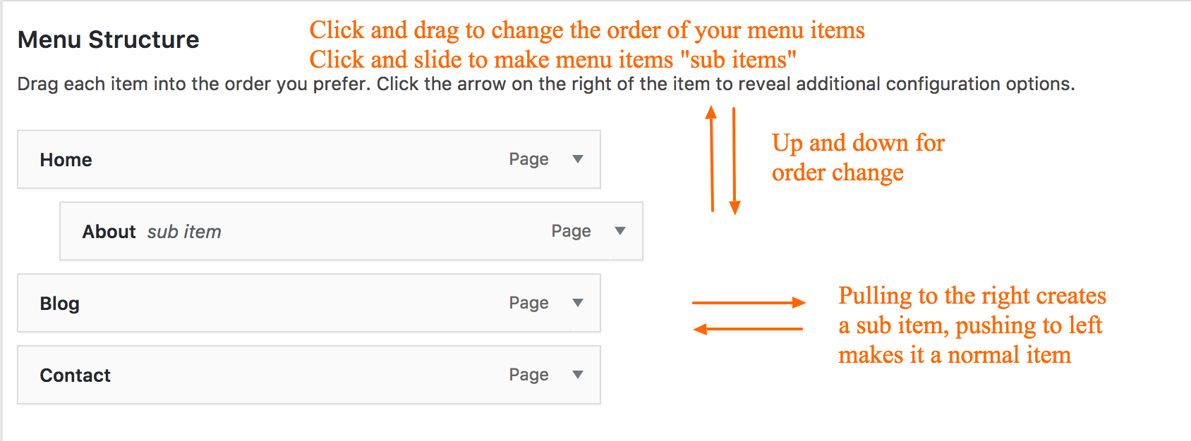 How to Edit Your Main Menu - Spark My Site - Lakeland, FL
