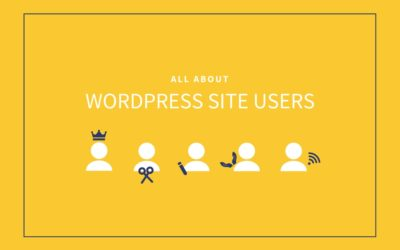 All About WordPress Site Users