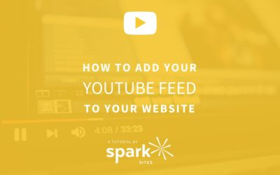 How to Add Your YouTube Feed to Your Website