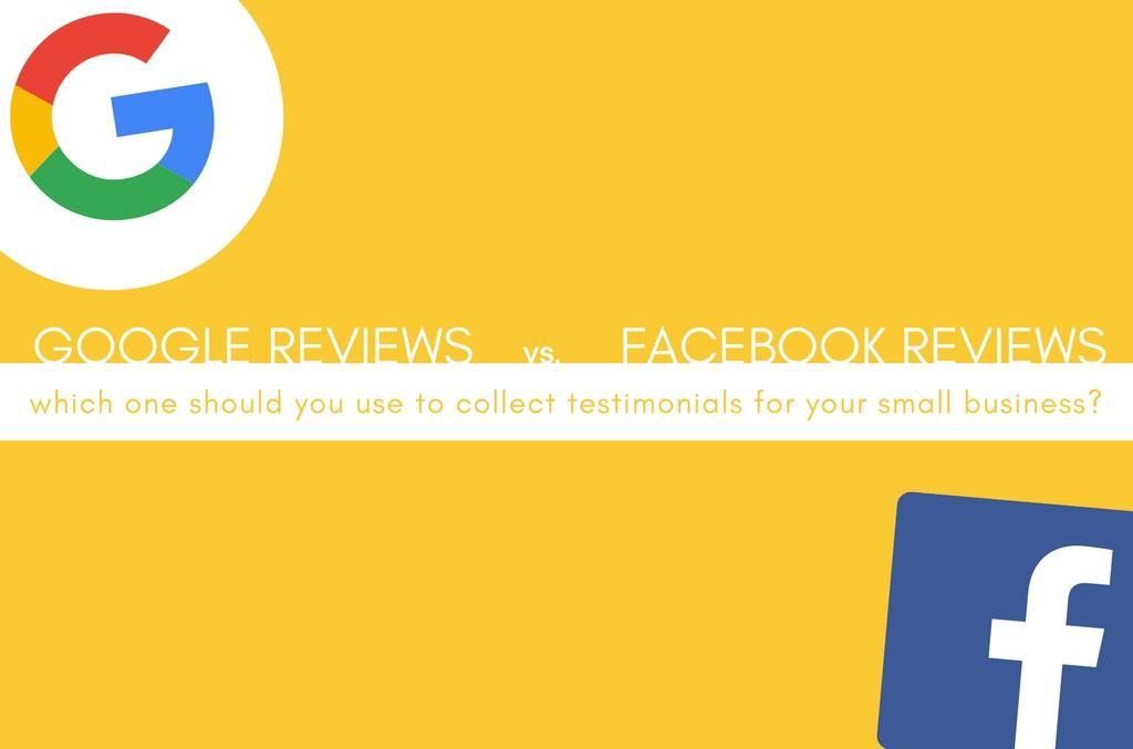 Google Reviews vs. Facebook Reviews - Spark My Site - Lakeland, FL