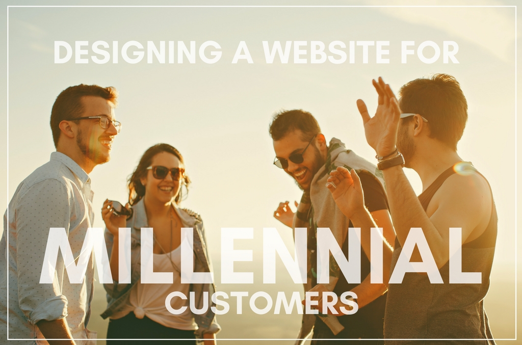 How to Design a Website for Millennial Customers - Spark My Site
