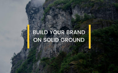 Build Your Brand On Stable Ground