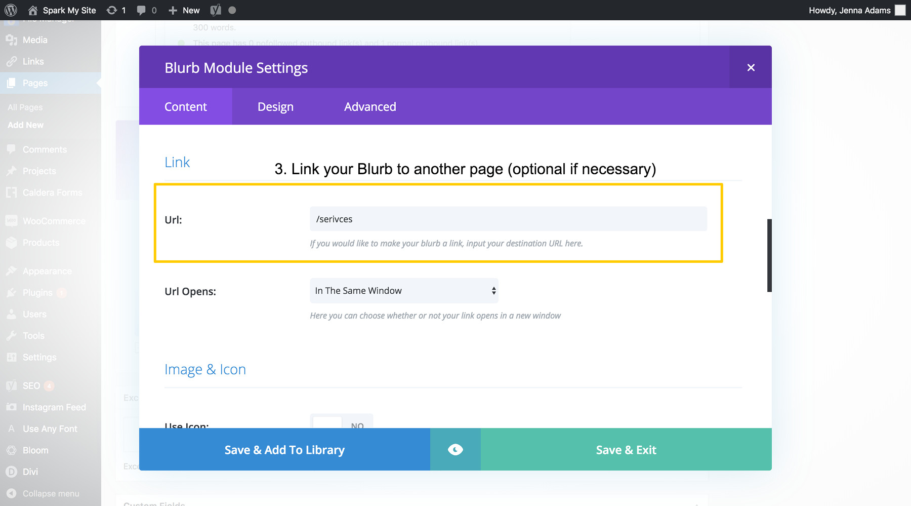 Divi Tutorials: How to Use the Blurb Module - Spark My Site