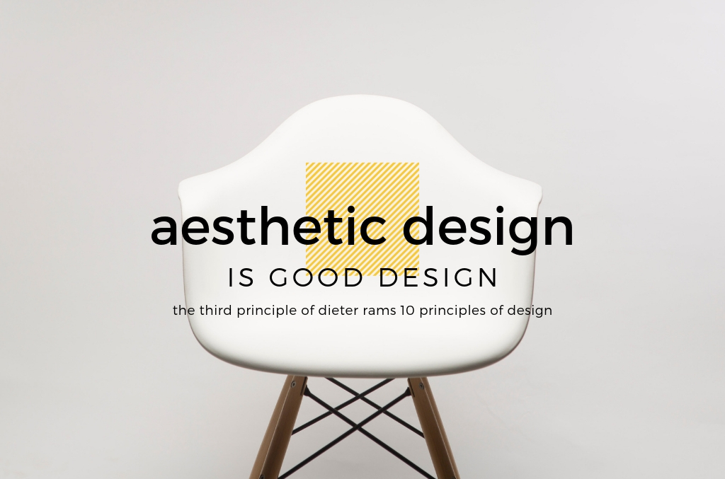 Aesthetic Design is Good Design - Dieter Rams - Spark Sites