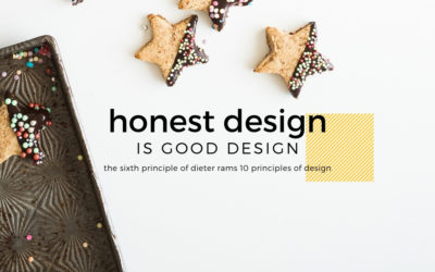 Honest Design is Good Design