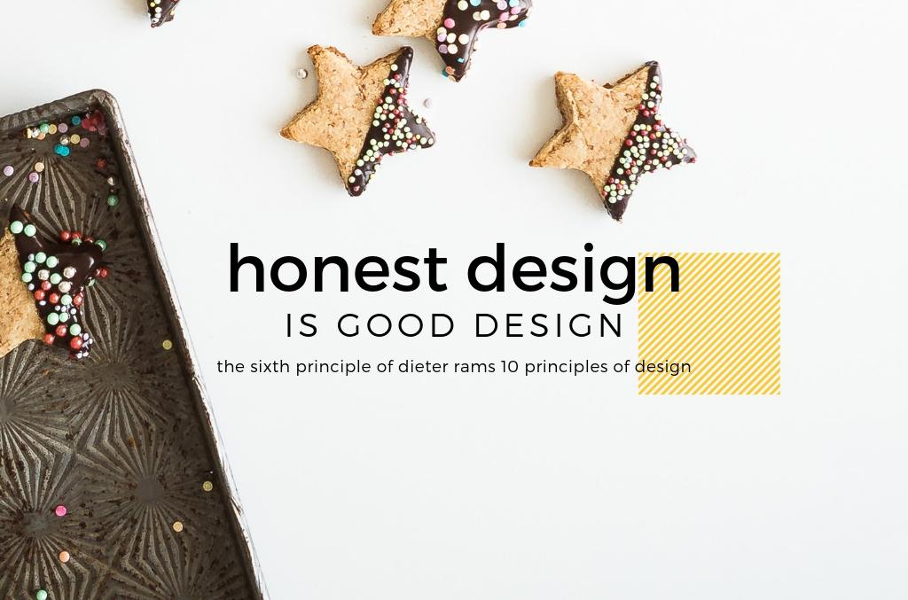 Honest Design is Good Design - Dieter Rams - Spark My Site