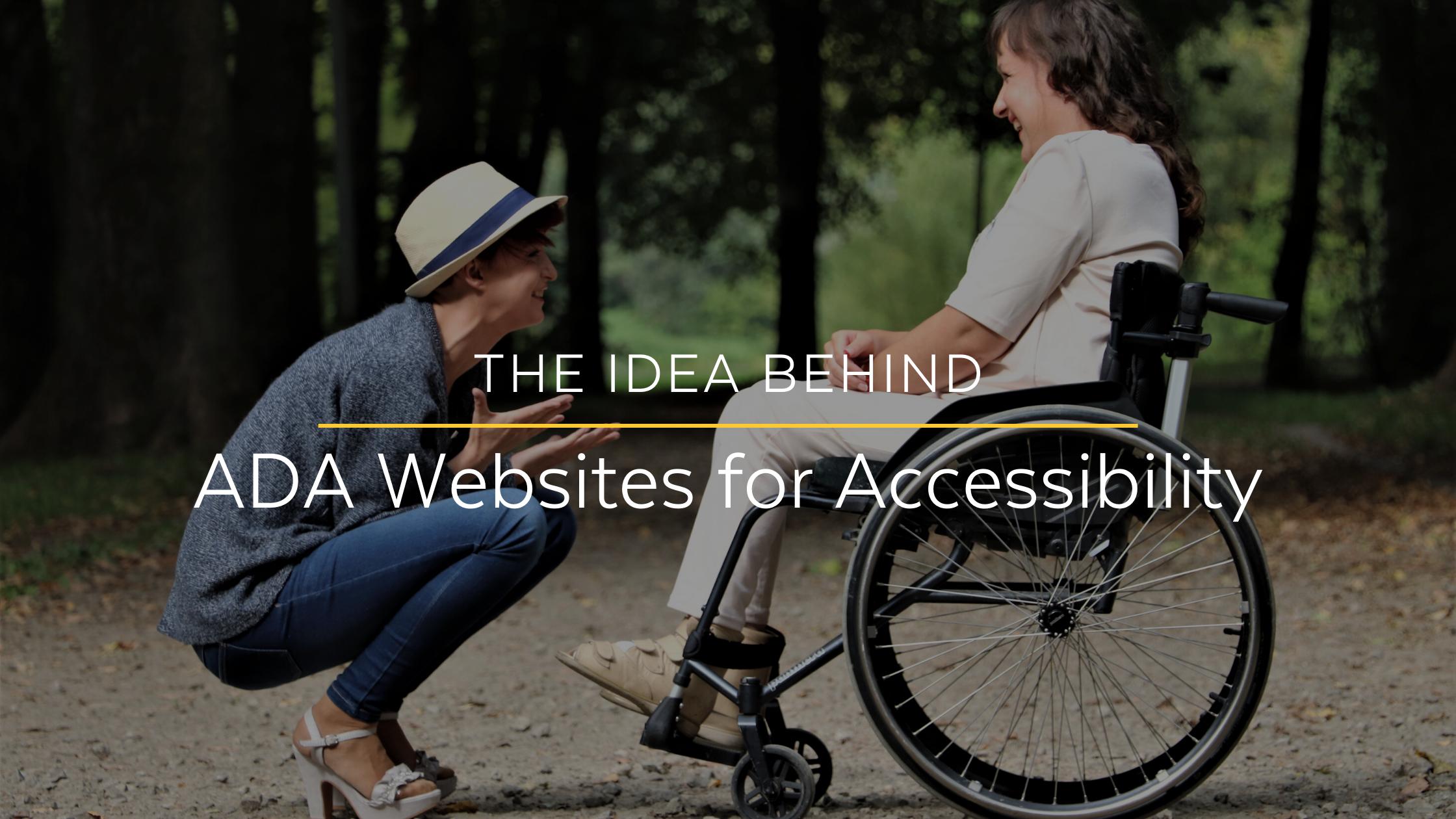 Blind Man and Guide Dog | Designing ADA Websites | Lakeland ADA Website Compliance
