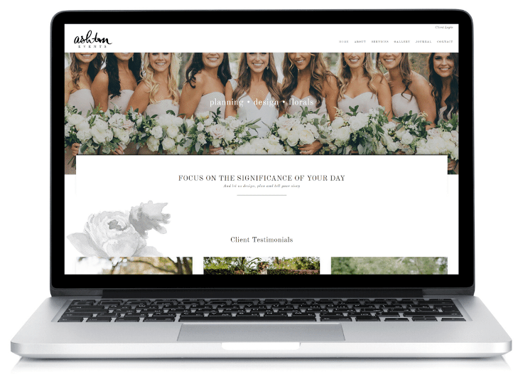 Ashton Events Website