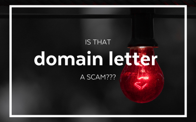 Is That Domain Letter a Scam? 🛑 Yes! Don't Renew Your Domain That Way!