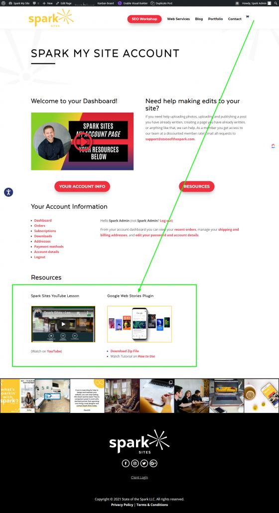 Value Add - Website Design Account Upgrade
